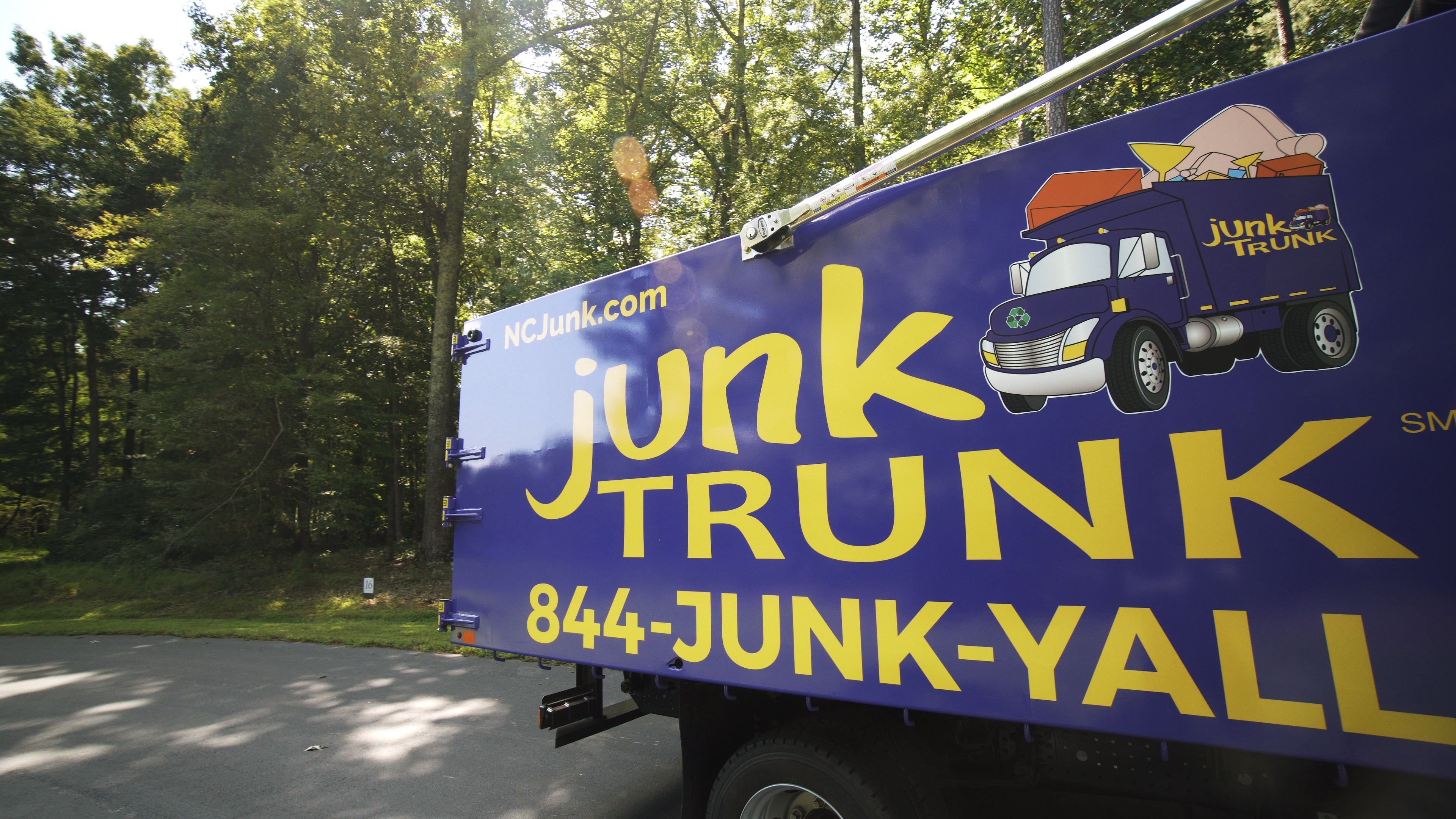 Junk Removal in Greenville NC Junk Trunk